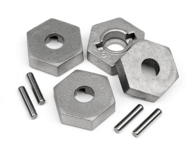 17mm Hex and Pin Set (4 szt.) | Trophy Truggy - 101190 HPI