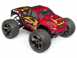 Bullet MT Clear body with Nitro/Flux Decal sheets-HPI107228