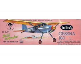 Cessna 180 508mm - 601 Guillow
