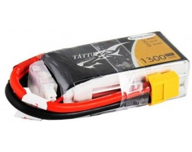 Gens Ace & TATTU: 1300mAh 11.1V 75C (Specially Made for Victory)