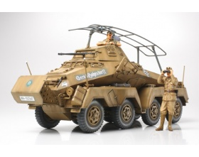 German Sd.Kfz.232 Africa Corps - 8 Wheeled Heavy Armored Car 1:35 | Tamiya 35297