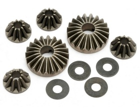 Hard differential gear set | Trophy - 101142 HPI
