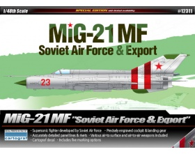 MiG-21MF Soviet Air Force & Export 1:48 | Academy 12311