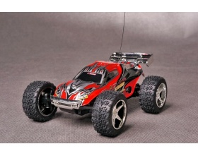 Monster mini car - TopCar Mission Dirt TC2190 - czerwony