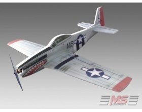 Mustang P-51 H XL EPP KIT - MS-42000 MS COMPOSIT