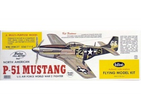North American P-51 Mustang 705mm - 402 Guillow