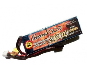 Pakiet 2600mAh 11,1V 3S 5C (do nadajnika, TX) - GENS ACE