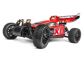 Strada XB RED Brushless 2,4 GHz 1:10 4WD RTR Electric Buggy - Maverick 12621