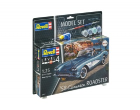 \'58 Corvette Roadster Model SET 1:25 | Revell 67037