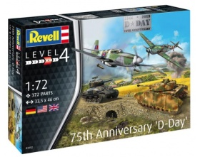 75th D-DAY Anniversary \'D-Day\' 1:72 | Revell 03352