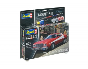 \'76 Ford Torino Model Model SET 1:25 | Revell 67038