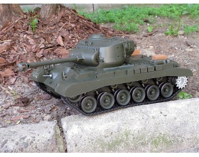 Pershing M26 (Snow Leopard) czołg 1:16 BASIC | 3838 HENG LONG
