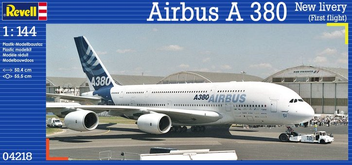 Airbus A380 First Livery 1:144 | Revell 04218