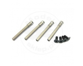 Aluminium diff support (CL-1) - GSC-CLP023 GS-Racing