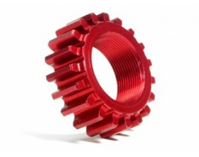 ALUMINUM THREADED PINION GEAR 19Tx12mm (1M)-HPI 76979