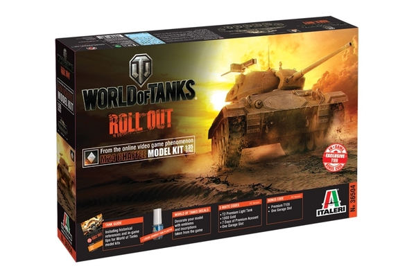 American M24 Chaffee WORLD OF TANKS 1:35 | Italeri 36504