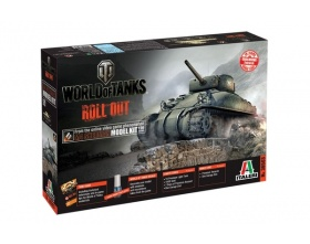 American M4 Sherman WORLD OF TANKS 1:35 | Italeri 36503