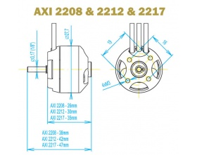 AXI 2212/20 EVP GOLD - Model Motors