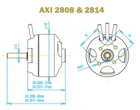AXI 2808/16 GOLD - Model Motors