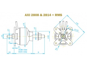 AXI 2814/12 GOLD - Model Motors