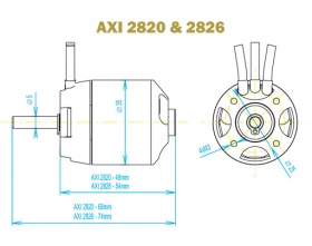 AXI 2820/14 GOLD - Model Motors