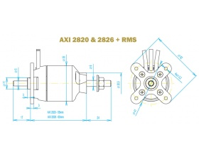 AXI 2826/10 GOLD - Model Motors