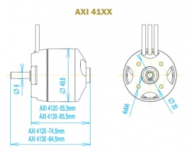 AXI 4130/20 GOLD - Model Motors