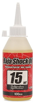 BAJA Shock Oil 15 W 100ml-HPI Z143