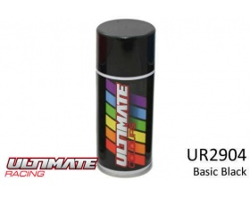 BASIC BLACK Spray 150ml UR2904  - Ultimate Racing