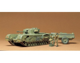 British Churchil Crocodile 1:35 | Tamiya 35100