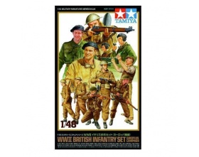 British Infantry Set European Campaign 1:48 | Tamiya 32526