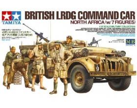 British LRDG Command Car North Africa with 7 Figures 1:35 | Tamiya 32407