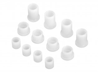 BUSHING SET FOR ALUMINUM C HUB-HPI 87162