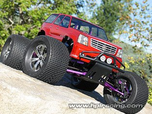 CADILLAC® ESCALADE BODY (SAVAGE/200mmWB255mm)-HPI 7490