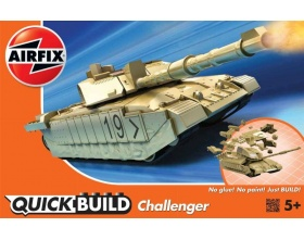 CHALLENGER TANK QUICK BUILD | Airfix 6010
