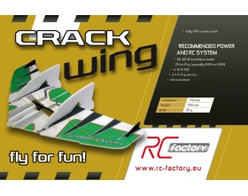 Crack Wing FUN (niebieski) - RC Factory