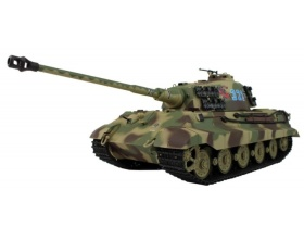 German King Tiger Henschel  czołg 1:16 | 3888A-1-2,4 HENG LONG