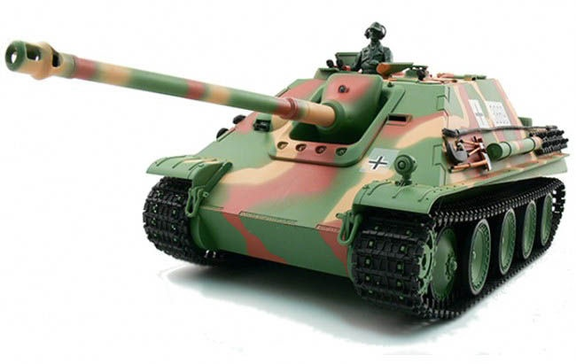 Czołg Jagdpanther 1:16 | 3869-1-2,4 HENG LONG