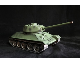 Czołg T34/85 2.4GHz PRO STEEL 1:16 Green - V. 6.0 | HENG LONG