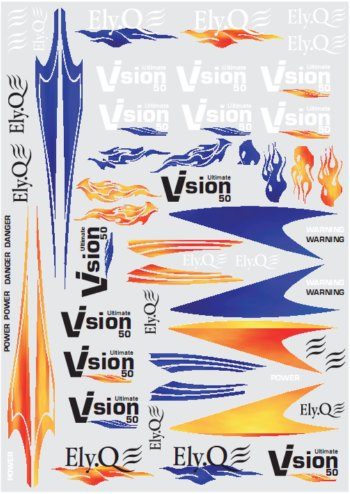 Decal Vision 50 Ultimate - EQ2057 - Vision 50 ElyQ