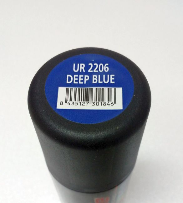 DEEP BLUE Spray 150ml UR2206  - Ultimate Racing