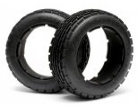 DIRT BUSTER RIB TIRE M COMPOUND (170x60mm/2pcs)-HPI 4831