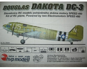 DOUGLAS DAKOTA DC-3 (1520mm) - HVP
