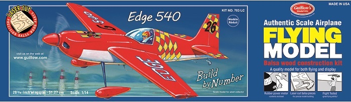 Edge 540 512mm - 703 Guillow