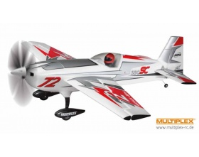 EXTRA 330SC Silver-Red ARF - Multiplex 264283
