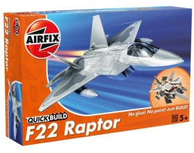 F-22 RAPTOR QUICK BUILD | Airfix 6005
