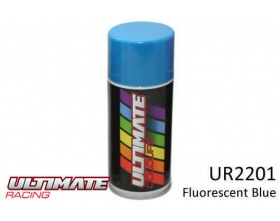 FLUORESCENT BLUE Spray 150ml UR2201  - Ultimate Racing