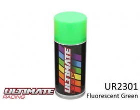 FLUORESCENT GREEN  Spray 150ml UR2301  - Ultimate Racing