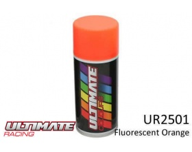 FLUORESCENT ORANGE Spray 150ml UR2501  - Ultimate Racing