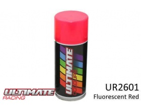 FLUORESCENT RED Spray 150ml UR2601  - Ultimate Racing